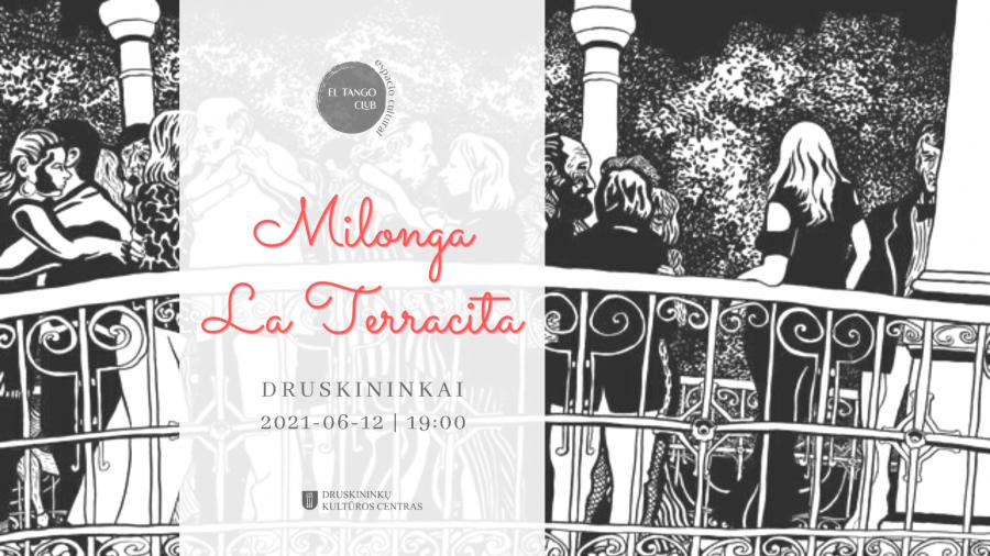 Argentinietiško tango vakaras | Milonga LA TERRACITA