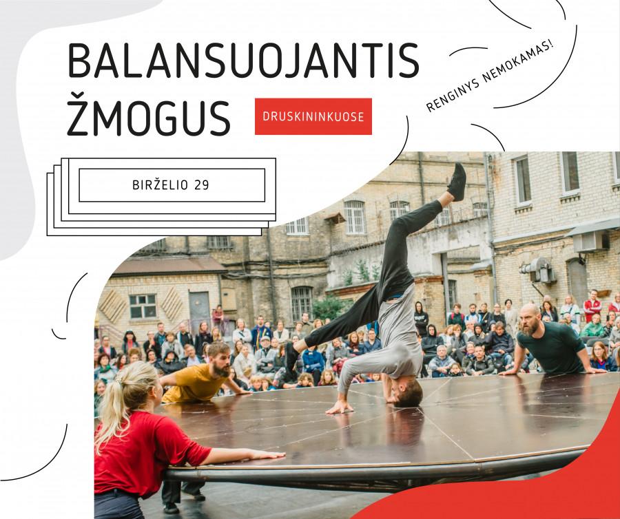 Balansuojantis žmogus | Unikalus judesio spektaklis