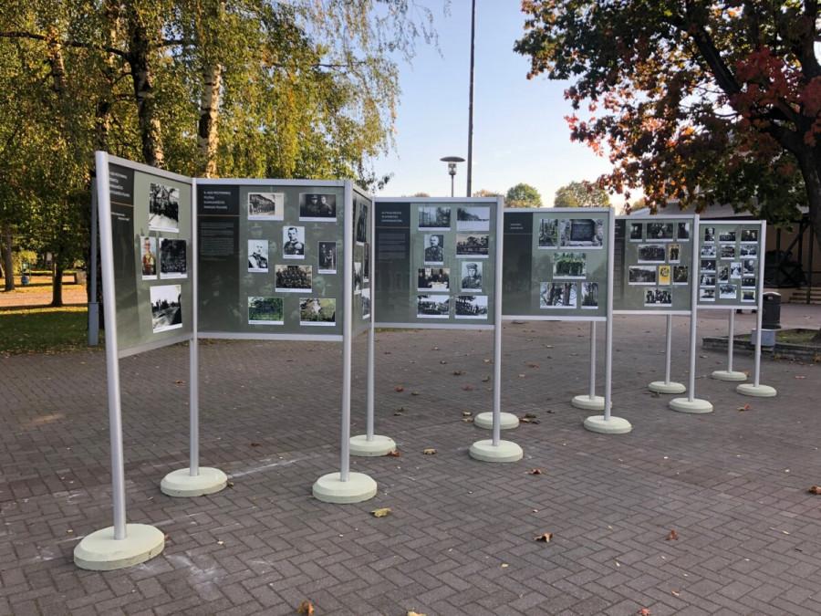 """Paroda """"Nepriklausomybės kovos Dzūkijoje 1919–1923 m.""""   Jotvingių šventė Leipalingyje"""
